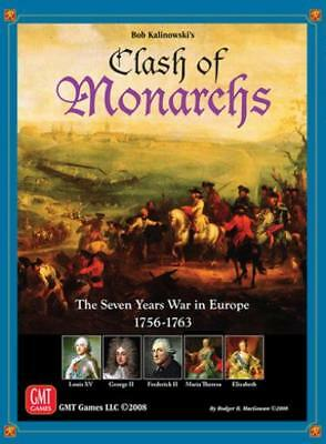 GMT Card-Driven Game Clash of Monarchs - The Seven Years War In Europe Box NM