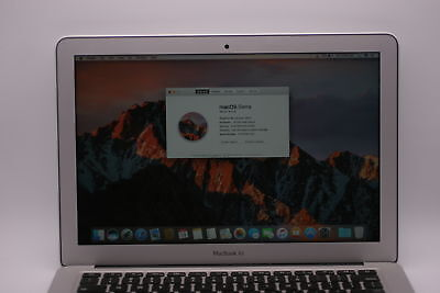 Apple Macbook Air MQD42LL/A A1466 2017 13.3in 250GB SSD 1.8Ghz Intel Core i5 8GB