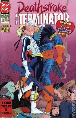 Deathstroke the Terminator #11 1992 VG Stock Image Low Grade