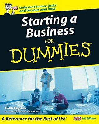 (Good)-Starting a Business for Dummies (Paperback)-Colin Barrow-0764570188