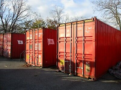 40ft High Cube Steel Cargo Storage Container in Wyandanch, New York 11798
