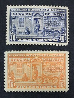 CKStamps: US Special Delivery Stamps Collection Scott#E12 E13 Mint H OG