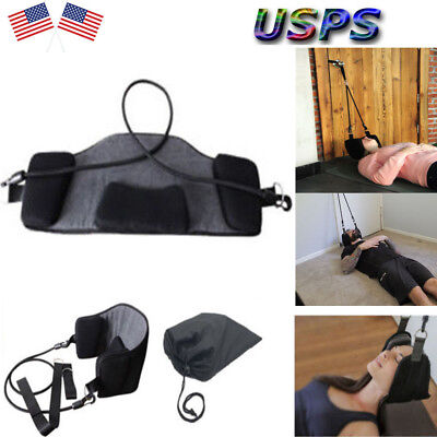 Neck Hammock Nerves Pressure Tension Headaches Pain Relief Massager Device US