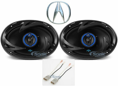 "Autotek CSC 900 Watt 6x9"" Rear Deck Speaker Replacement Kit For 2009-14 Acura TL"