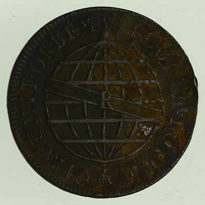 1812 Brazil 40 Reis - Historic World Coin *491