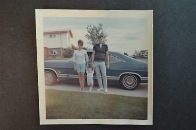 Vintage Car Photo Family w/ New 1967 Ford Galaxie 916028