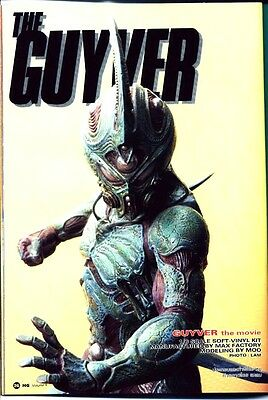 "12""bio Booster Guyver 1 The Movies Vinyl Model Kit 1/6"