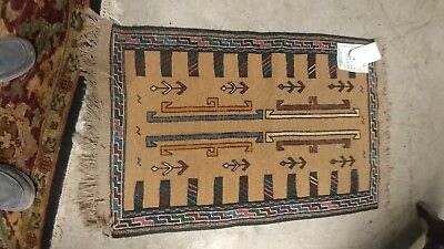 Authentic Hand Knotted persian kilim 3 by 2