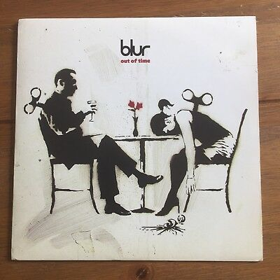 "Blur - Out Of Time 7""   Vinyl Banksy"