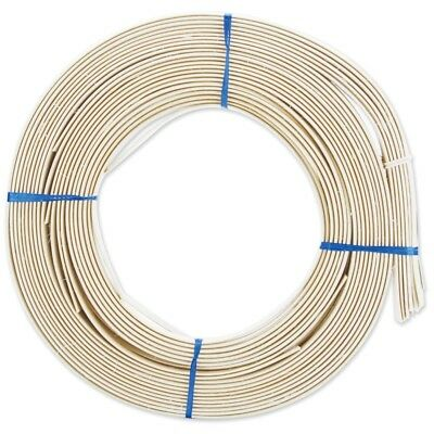 """Reed Flat Oval 1/2"""" App 90' - 127mm 1lb Coilapproximately 90"""