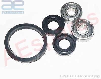 Lambretta Gp Sx Tv Li Wheel Bearing & Seal Set Front Manny Models @cad