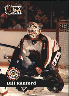 1991-92 Pro Set Oilers Hockey Card #283 Bill Ranford AS