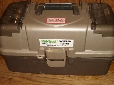 lmid-west instruments 845-3 backflow test kit. It's  mint condition