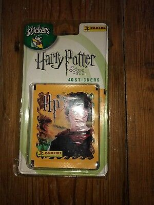Harry Potter Stickers Panini French Coupe De Feu Sealed