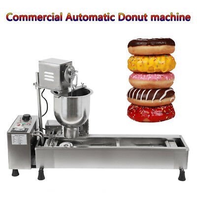 3000W Commercial Automatic Donut Maker Machine With 3 free Stainless Steel Mold