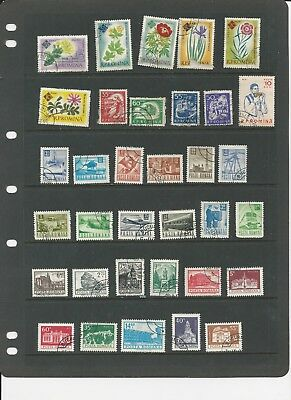 ROMANIA - COLLECTION OF USED STAMPS (2 SCANS) - #ROM8ab