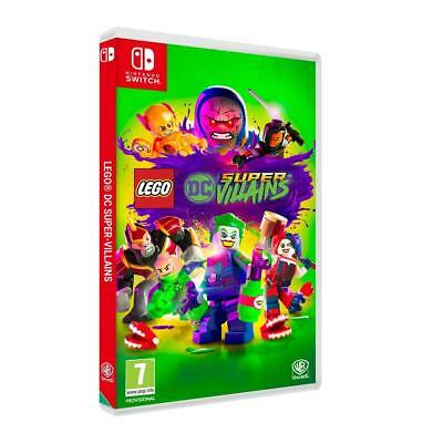 LEGO DC Super Villains Nintendo Switch Game - NEW & SEALED 7 Plus Kids