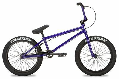 "Eastern 20"" BMX Javelin Bicycle Freestyle Bike 3 Piece Crank Purple 2019 NEW"