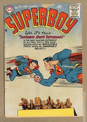 Superboy (1st Series DC) #47 1956 GD- 1.8
