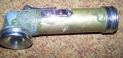 Vintage Bsa (Boy Scouts Of America) Flashlight, Anglehead Light *nice*