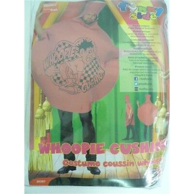 Whoopie Cushion Costume - Fancy Dress Stag Funny Adult Mens Comedy Party Outfit