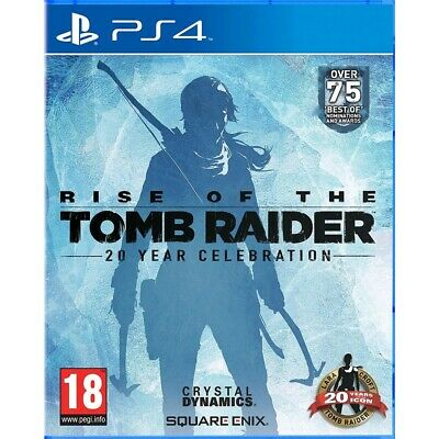 Rise Of The Tomb Raider: 20 Year Celebration /ps4