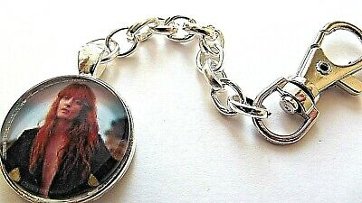 Florence The Machine Photo Key Ring Strong Chain Singer Silver Plated Gift Box