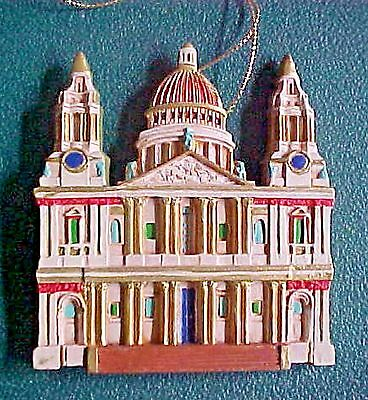 CATHEDRALS OF THE WORLD CHRISTMAS ORNAMENT  St. Paul's