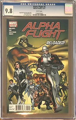 Alpha Flight #5 CGC 9.8