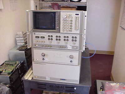HP/Agilent 8510C  HP 85107B VECTOR NETWORK ANALYZER  45MHZ TO 50GHZ WITH OPT-10