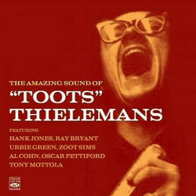 Toots Thielemans THE AMAZING SOUND OF TOOTS THIELEMANS (2 LP ON 1 CD)
