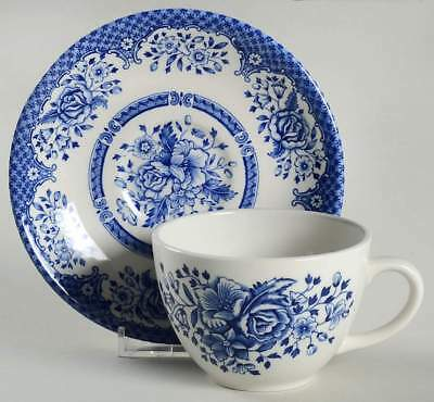 Wood & Sons KEW BLUE Cup & Saucer 10517241