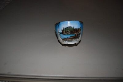 Antique Made in Germany Owl's Head, Rockland Maine Lighthouse Tea Cup