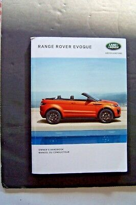 range rover evoque owners manual