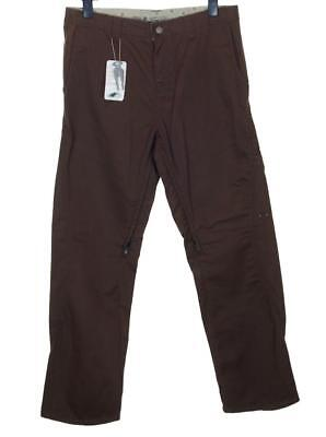 "New Men's Oakley Sliced Pant Golf Trousers Jeans W34"" L32"" + Divot Earth Brown"