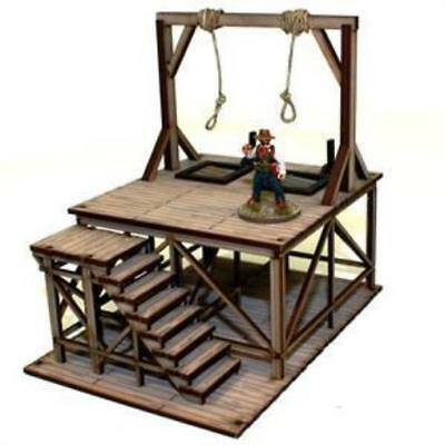 4Ground 28mm Old West Terrain Hangman's Gallows (Pre-Painted) Pack MINT