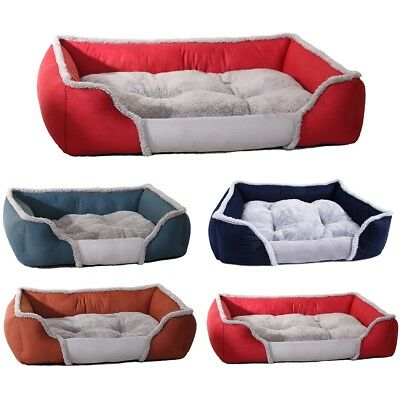 Large Pet Dog Cat Bed Soft Warm Kennel Dog Mat Blanket Puppy Cushion House Lot