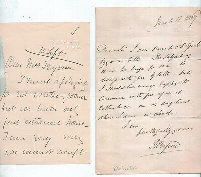 Original 1909 The Palace  Ripon Yorkshire Bishops Palace Letters