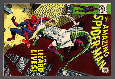 The Amazing Spiderman 76 Silver Age Marvel Spider-Man The Lizard Lives