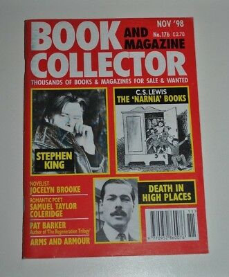 Book Collector # 176 Nov 1998 - Stephen King, C.S Lewis - Narnia, Pat Barker