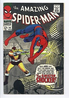 Amazing Spider-Man #46 Vol 1 Near Perfect High Grade 1st Appearance of Shocker