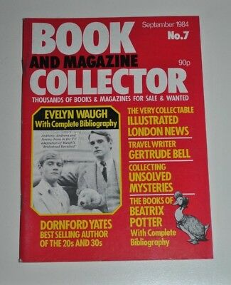 Book Collector # 7  Sept 1984 - Evelyn Waugh, Beatrix Potter, Gertrude Bell