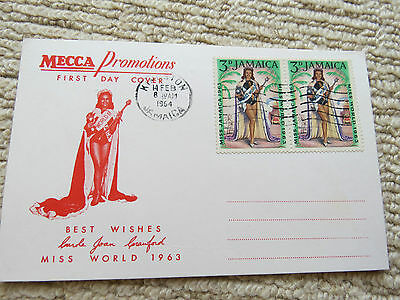 Jamaica Miss World 1964 First Day Cover