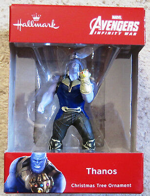 Hallmark 2018 Thanos Avengers Infinity War ornament- Mint in Box !