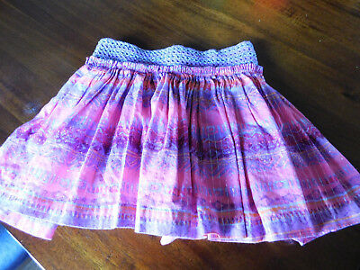 Girls Justice Very Pretty Multi-Color Skort • Size 10