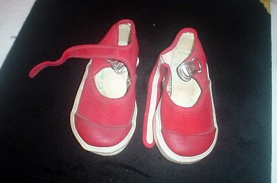 Vintage Toddlers Red PF Flyers Shoes Sz 4 Tennis Shoes USA