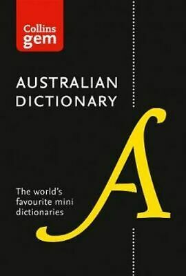 NEW Collins Gem Australian Dictionary  By Collins Dictionaries Paperback