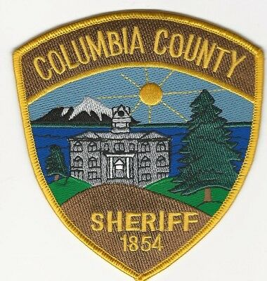 Scenic Columbia County Sheriff State Oregon OR patch