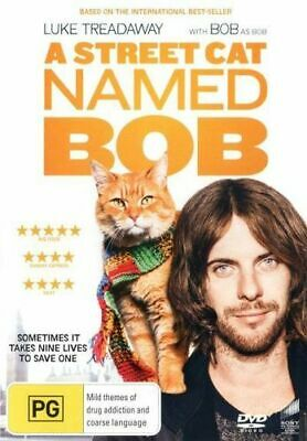 NEW A Street Cat Named Bob DVD Free Shipping