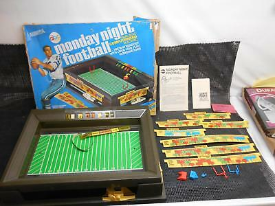 Old Vtg 1972 AURORA MONDAY NIGHT FOOTBALL GAME Roger Staubach Pieces & Parts